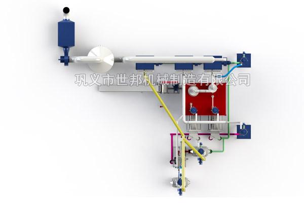 1.5吨锂电池回收设备生产线