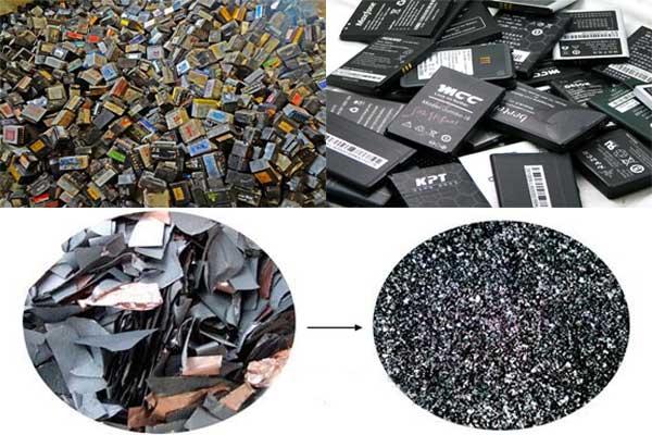 锂电池粉碎回收设备可有效对极片进行处理回收