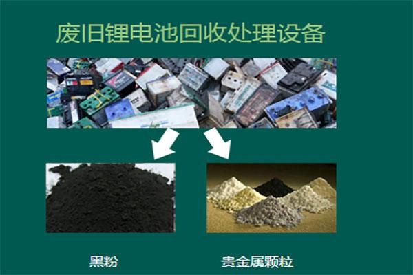 锂电池回收设备分选解决方案