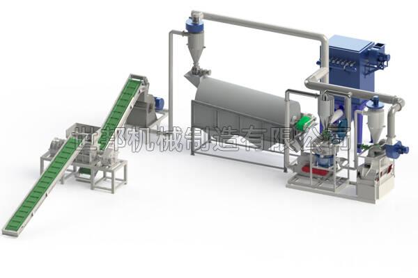 1吨锂电池分选设备工艺流程及设备组成